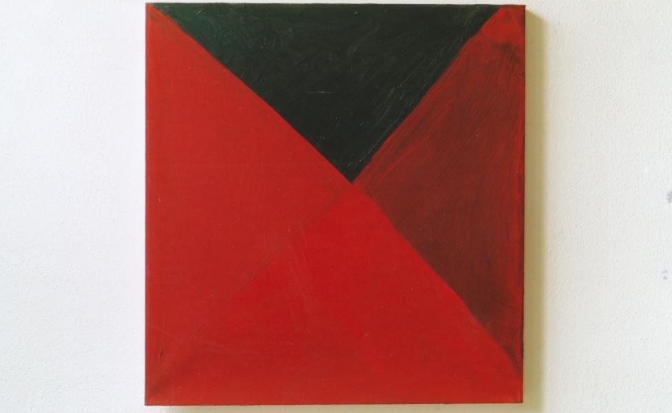 O.T., 2001, Öl Leinwand, 68 x 72 cm