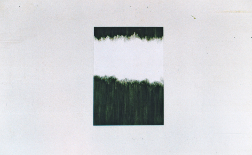 O.T., 2003, Öl Papier 30 x 42 cm